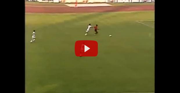 Mannon Sanon's goal against Italy