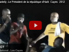 Men President Michel Martelly K'ap Gouye Sou Cha a, Gade Koze !