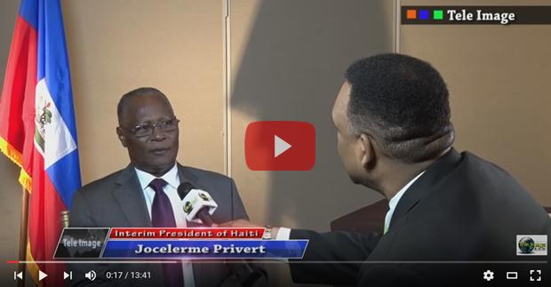 President Privert haiti